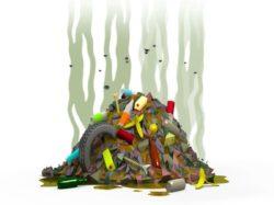 القمامة = نشر الجراثيم