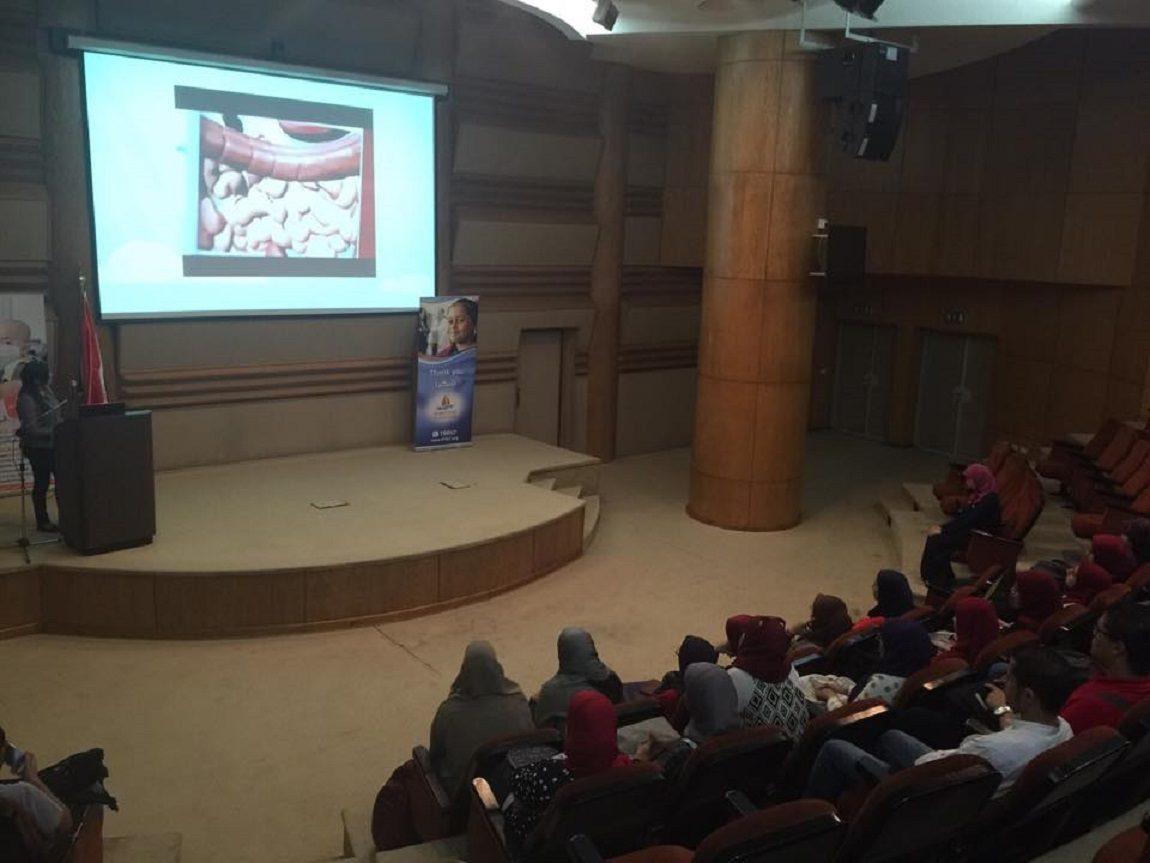 زيارة جامعة المنصورة